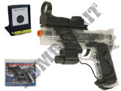 Colt MK IV Combat Model Airsoft BB Gun Bundle Clear